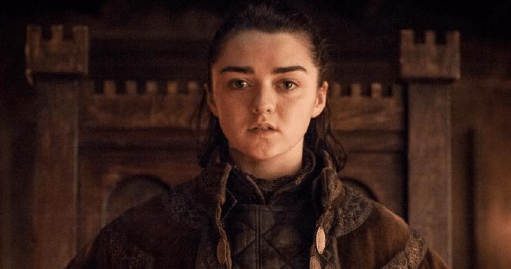 Arya Stark, interpretada por Maisie Williams na adaptação televisiva da HBO (Imagem: Divulgação)