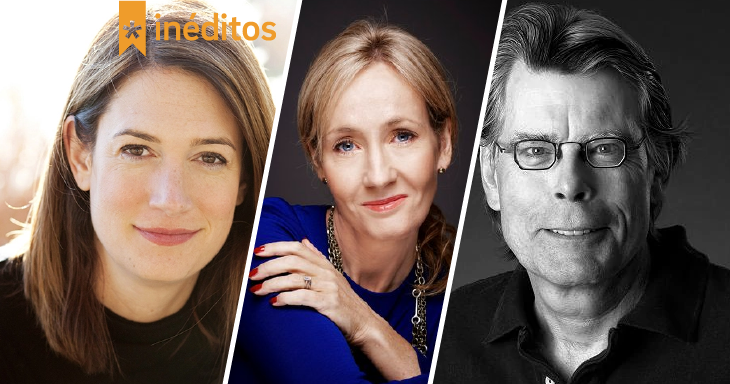 Gillian Flynn, J. K. Rowling e Stephen King