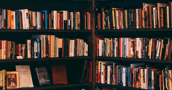 8 maneiras de organizar a sua estante de livros