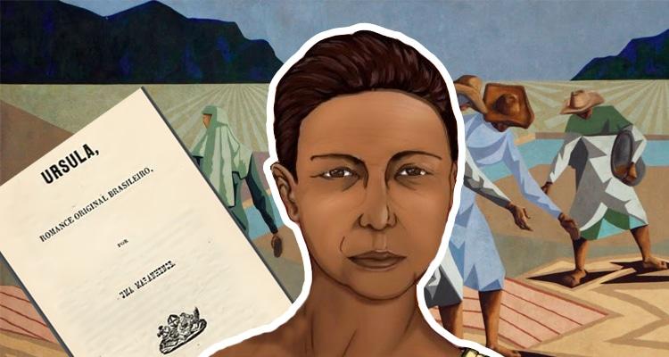 Arte Maria Firmino dos Reis realizada pela Revista CULT